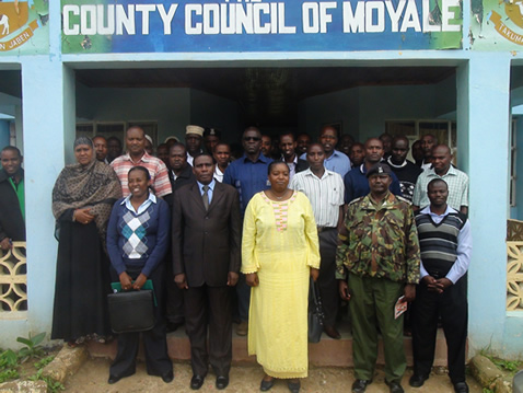 Embassy Team visits Moyale