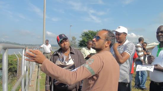 Embassy Team Visits Gilgel Gibe I, II & III