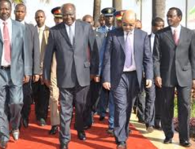 Prime Minister Meles Zenawi in Kenya for a State Visit