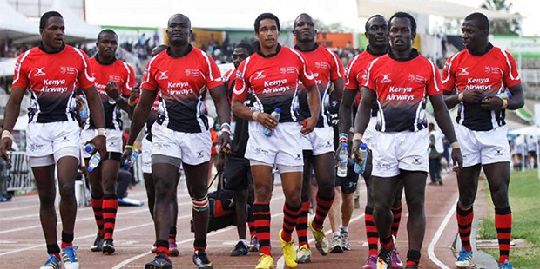 Kenya Rugby Team