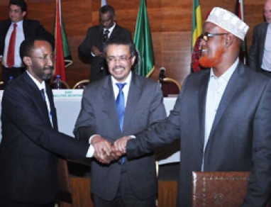 The Federal Government of Somalia and the representative Jubba region Signs an Agreement establishing the Interim Jubba Administration in Somalia