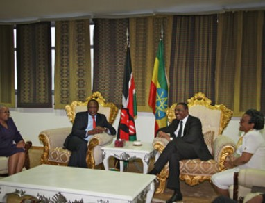 President Uhuru Kenyatta in Maiden State Visit to the Federal Democratic Republic of Ethiopia.