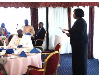 Working Breakfast with Ambassadors accredited to Kenya