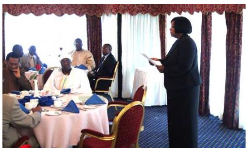 Working Breakfast with Ambassadors accredited to Kenya