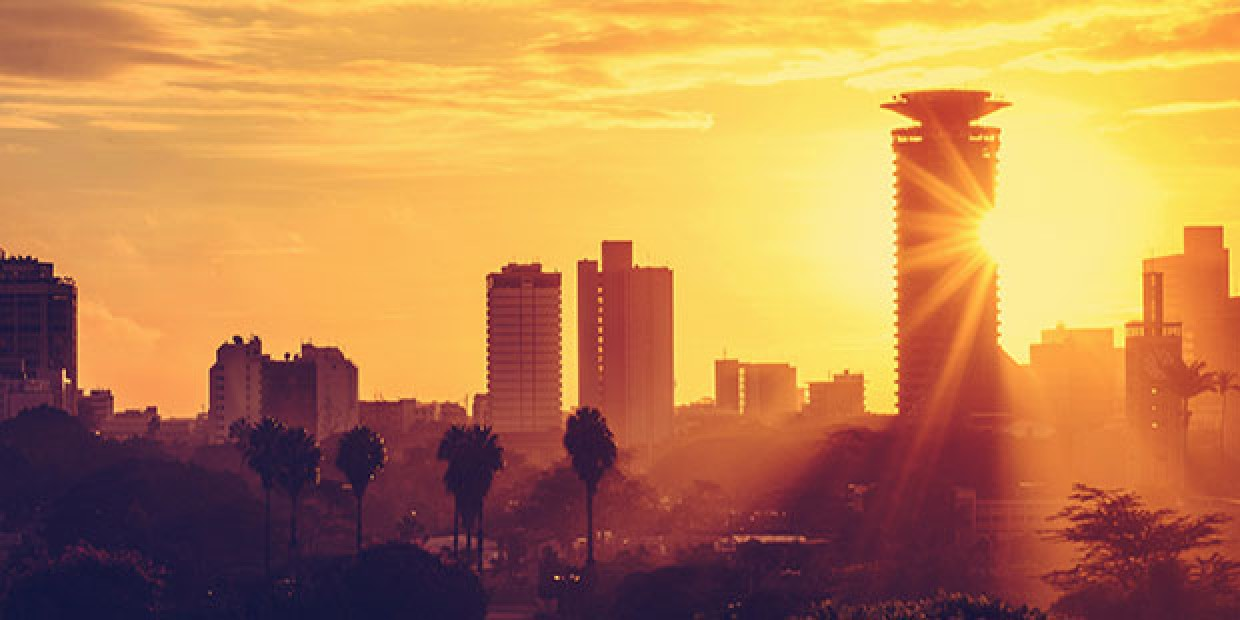 Sunrise in Nairobi