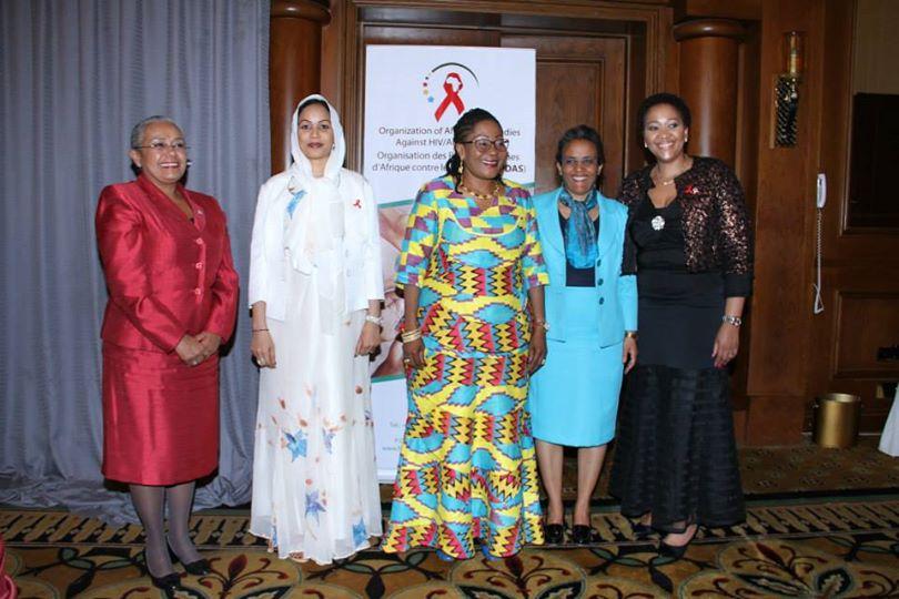 H.E. Margaret Kenyatta attends OAFLA Presidency Handover Ceremony
