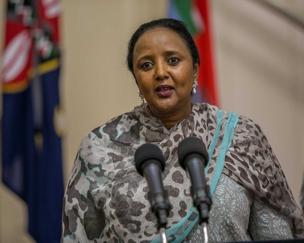 Kenya Nominates Amb. Amina Mohammed for AU Chairperson