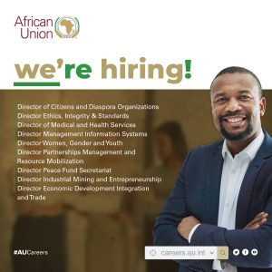 Career Opportunities at the African Union
